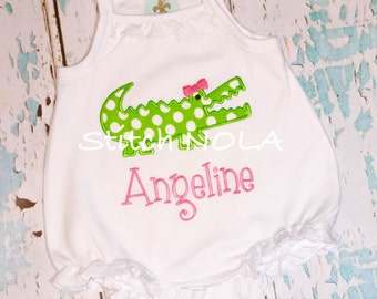 Alligator Bubble, Tee, Gown, or Bodysuit
