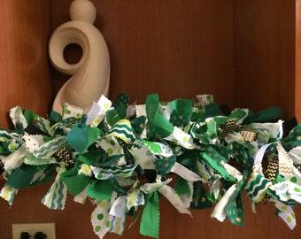St. Patricks Day Rag Garland