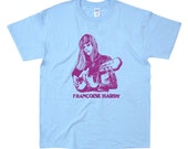 Françoise Hardy *** Special Edition TShirt (3 Colors Available) Gildan S M L XL Unisex Handmade French Pop Ecofriendly Screenprint