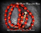 Keeper of the Bones mala/rosary necklace