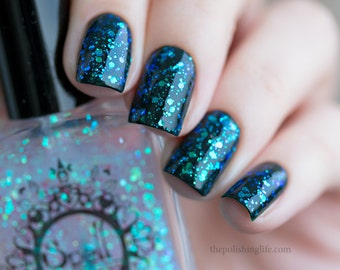 """SPELL Polish indie nail laquer ~The Sky is Our Canvas~ from """"It Was Written in the Stars""""!"""