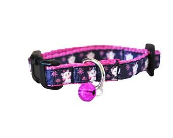 Angora Cat Kitten Puppy Small Dog Collar Inspired by Marie Cat