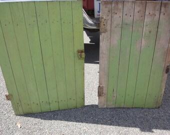 Handmade Storage Barn Doors/Storage Doors/Crawl Space Door/Critter Cage Doors/Barn Doors/Farmhouse/Shabby Chic