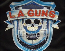 L.A. Guns t-shirt new vintage style concert tour jersey la made in usa