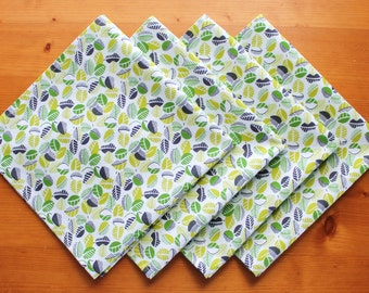Cloth Napkin, Cotton Napkin, Set of 4 Dinner Napkins