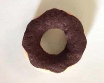Double Chocolate Felt Doughnut