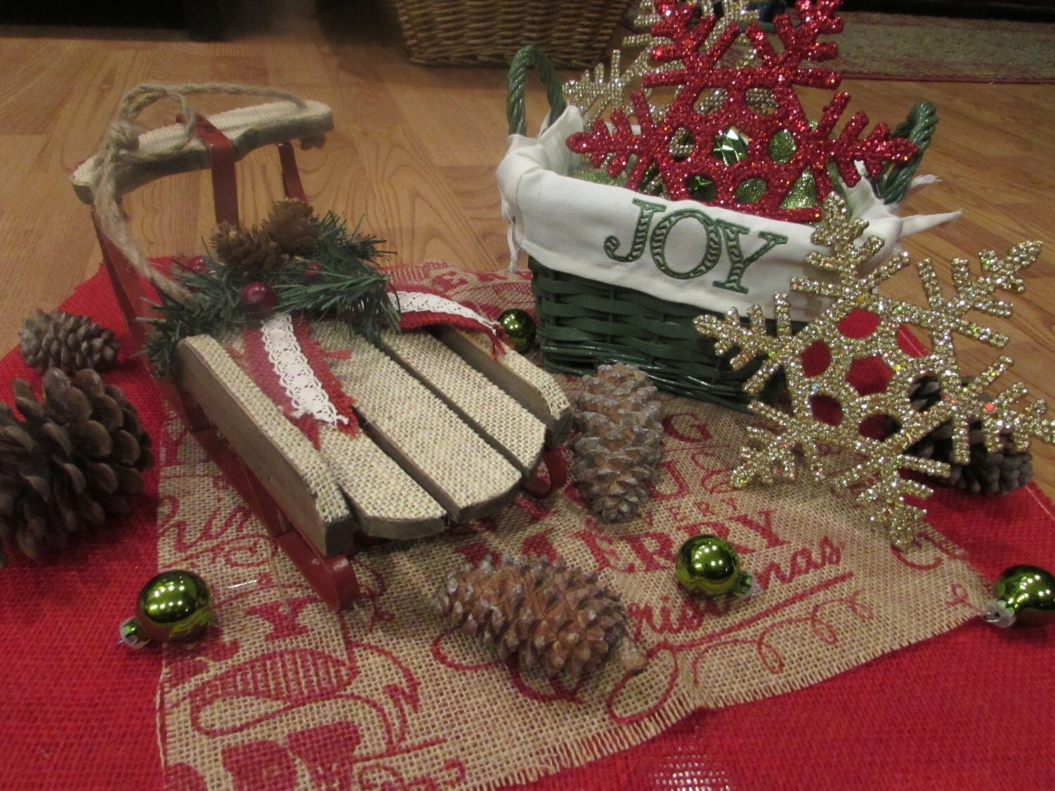 Christmas Table Centerpieces Etsy : Christmas table decorations etsy desktop pc s amd