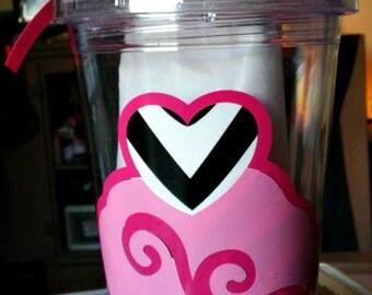 Cupcake Love Tumbler 16 oz