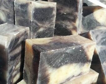Lavender, Patchouli & Oats natural bar soap