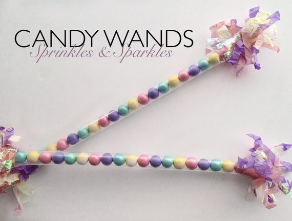Candy wand pastel color sixlets unicorn by sprinklessparkles1 - Pastelltone wand ...
