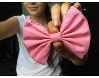 Cotton Candy Bow