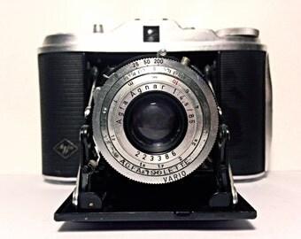 Agfa Isolette 1 - vintage 50's 120 film camera