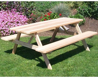Red Cedar Classic 8ft. Picnic Table