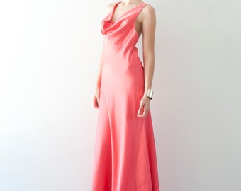 Cowl Neck Gown - SAMPLE SALE