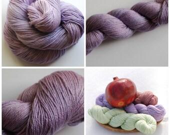 Soft Lilac Bamboo Sock Yarn