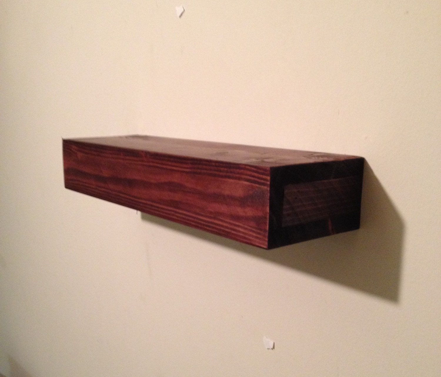 wood floating shelf rustic home decor rustic shelves