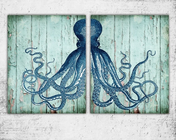 Wooden Octopus Sign, 11