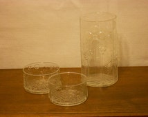 Danish Vase & Bowls MCM Set - 'Flora' by littala