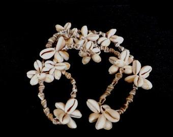 Long  Handmade Natural Seashell Necklace,  Summer Jewelry, Beach Bridal Jewelry