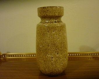 Vintage Scheurich West German Vase. Vase ceramic. Scheurich pottery, West Germany Sixties vase.