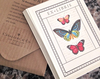 Eighteen Ex Libris Bookplates with Case