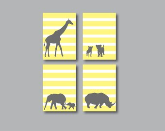 Printable Safari Animal Print Set