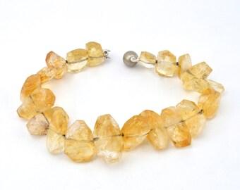 Citrine  bracelet  , yellow bracelet