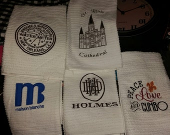 Speciality Louisiana Bar Mop Towels