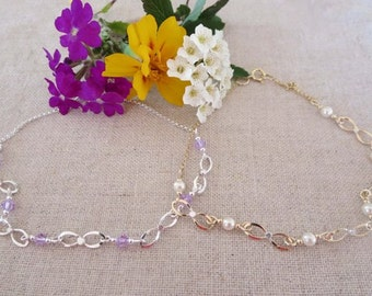 Bow Anklet