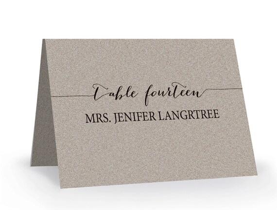 printable place card template editable escort word by xobspoke