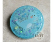 Cute T-Rex Resin Brooch