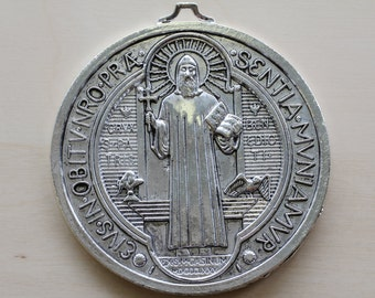 Large Saint Benedict Pendant