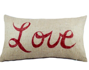 valentine pillow etsy