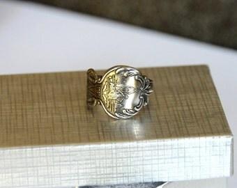 D.C. ring, spoon ring, american ring, washington ring,  district of columbia ring