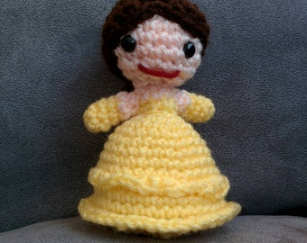 Princess Belle Crochet Amigurumi Doll