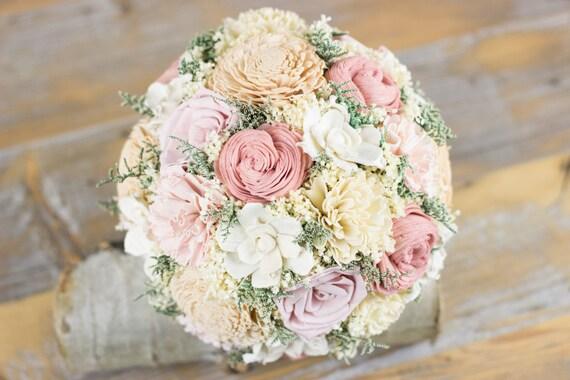 bouquet de mari e rose layette vieux rose tan sola fleur. Black Bedroom Furniture Sets. Home Design Ideas