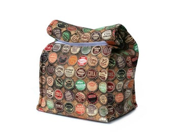 MTO Insulated lunch bag - Soda caps