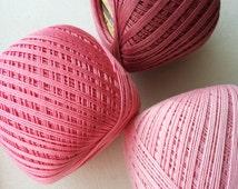 crochet cotton thread size 10, 50g x 250m, 3ply, mercerized cotton yarn #10