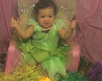 Tinker Bell Inspired, Fairy custome outfit