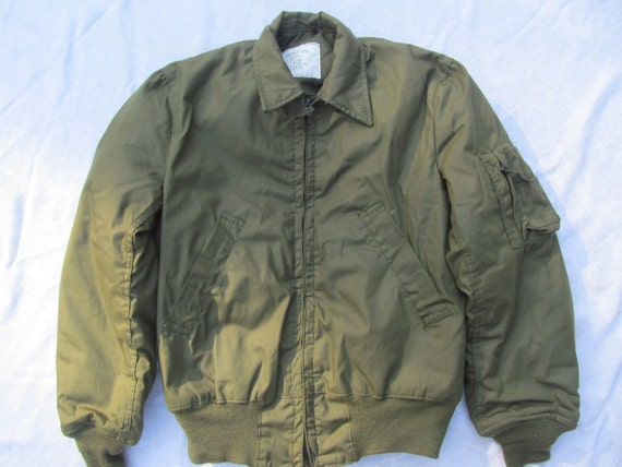 Vietnam Era Military Cold Weather Flyers Jacket