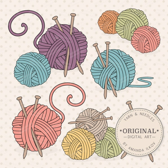 yarn clip art borders - photo #42