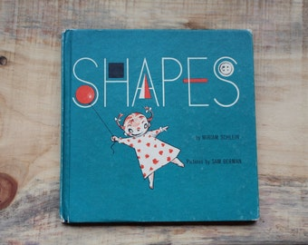 1952 First Edition Hardcover of Shapes by Miriam Schlein