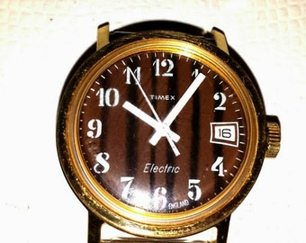 Timex vintage electric watch.