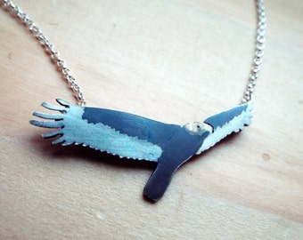 Turkey Vulture Sterling Silver Necklace