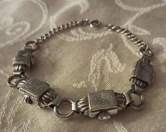 Antique Victorian Silver Bracelet