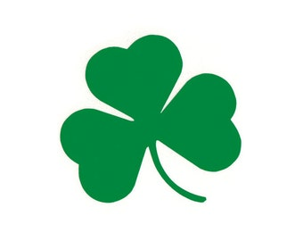 Shamrock - Irish/Celtic/3 Leaf Clover - Car/Truck/Laptop/Computer/Phone/Home Decor/Bumper Sticker - Vinyl Decal