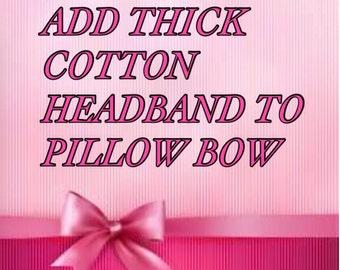Thick headband