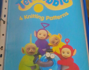 Teletubbies Knitting Pattern : Popular items for teletubby on Etsy
