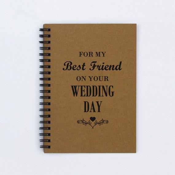 Best Wedding Gifts For Friends: Best Friend Wedding Gift For My Best By FlamingoRoadJournals
