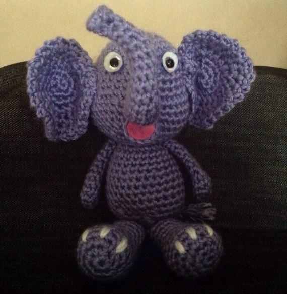 Amigurumi little cute elephant